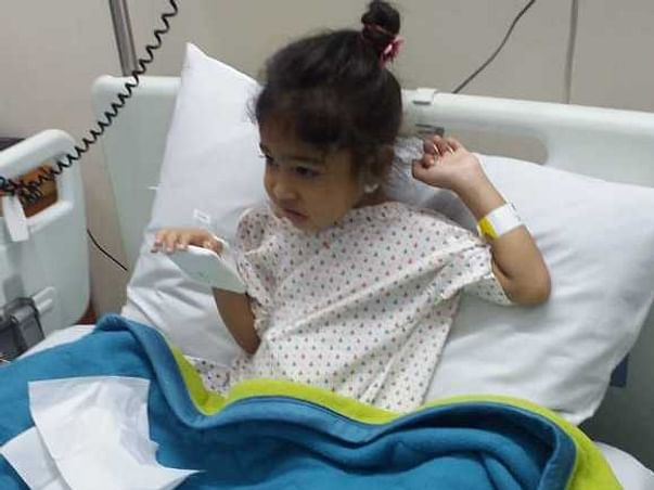 2 Year-Old Girl Who Ingested Acid Needs Your Urgent Help