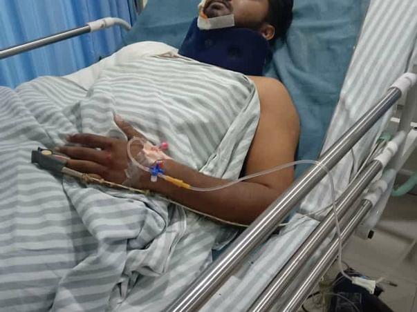 Help Meeravali Who Met With Accident