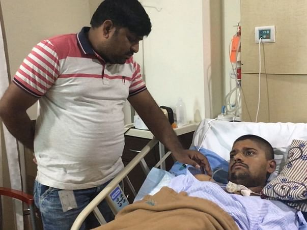 Please help poor farmer's son Harish to recover from brain infection