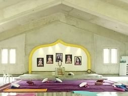 Help Complete Meditation Hall Of Sri Paramhansa Yogananda