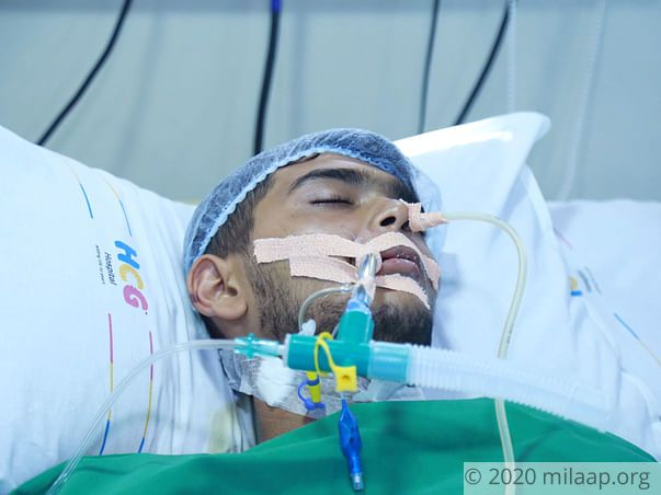 Rishi needs your support to undergo his treatment