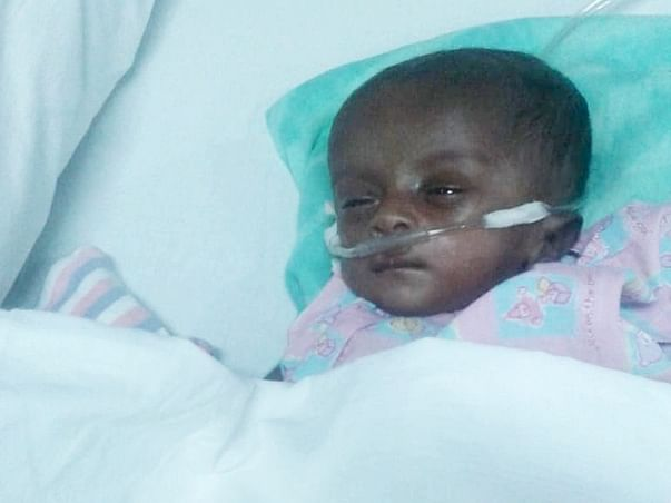 Help Little Saayishri Undergo Open Heart Surgery