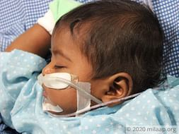6-Month-Old Baby's Liver And Lungs Are Severely Infected, Needs Help