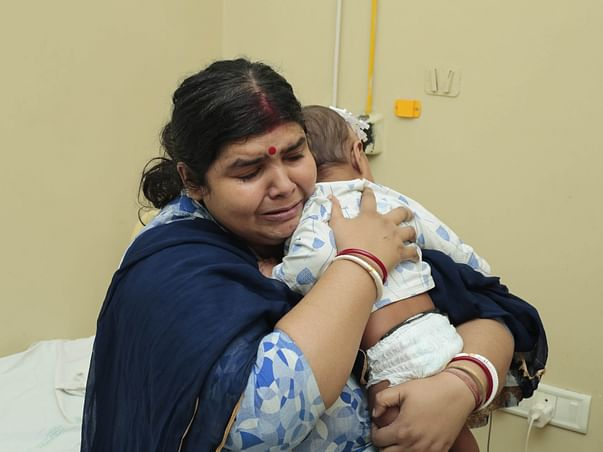 Helpless Mother Struggles To Save 7-Month-Old Baby's Life