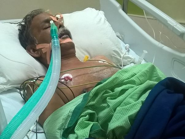 Help Vijay Kumar to Fight Pulmonary  Edema