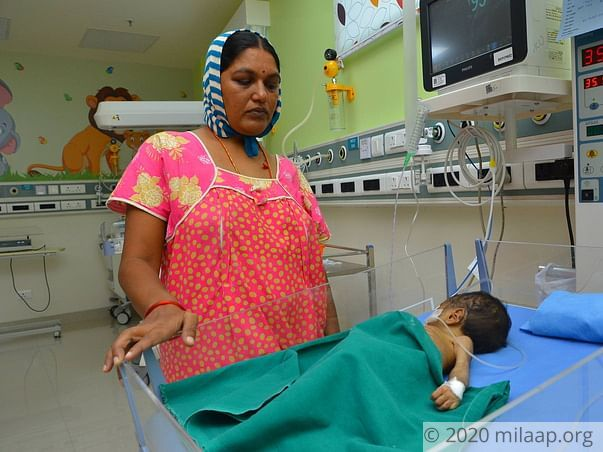 Baby of vijaya needs your help for his treatment