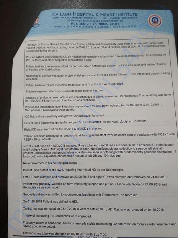 Case history summary - Uttoron page 2