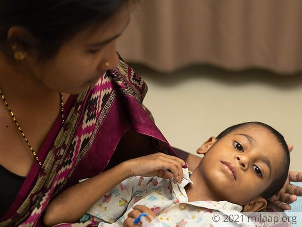 Domestic Help's 4-Year-Old Has Cancerous Tumor In Brain, Needs Help