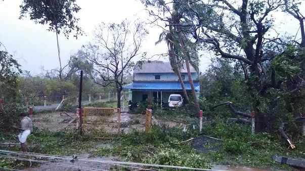 Pushpavanam Village(Effect of cyclone)