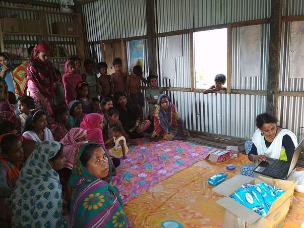 Help Us Distribute Sanitary Pads To Women