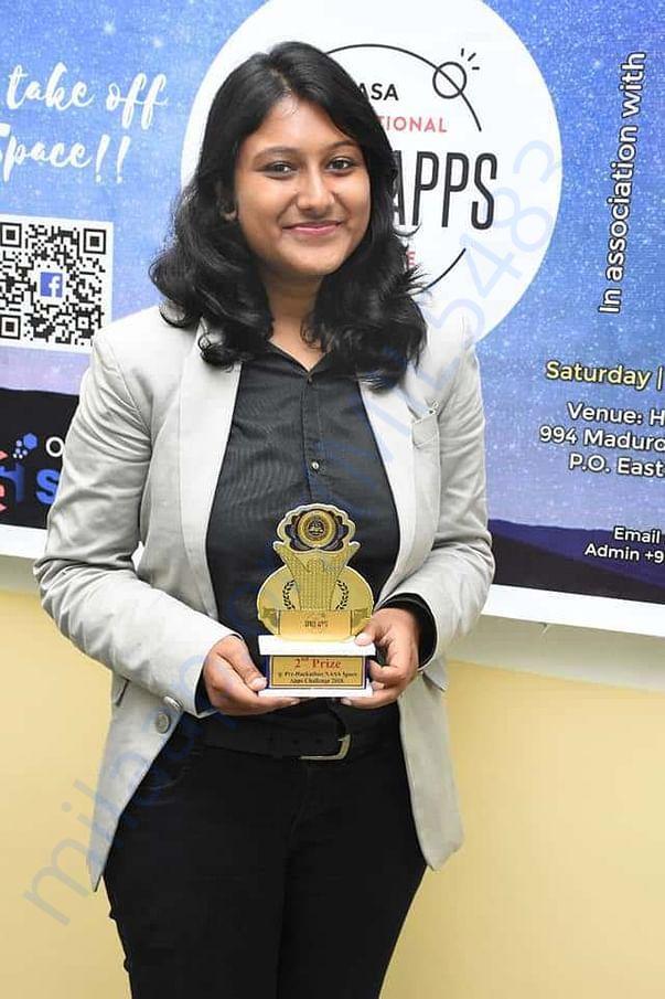 2nd Prize Winner, at Kolkata