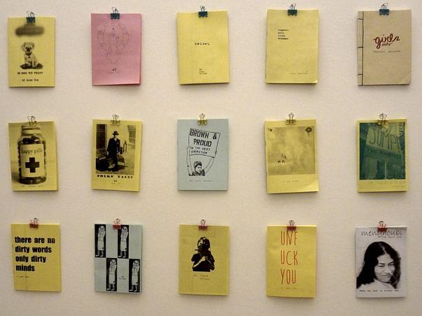 underground bookhouse + bombay zine library + chota gallery