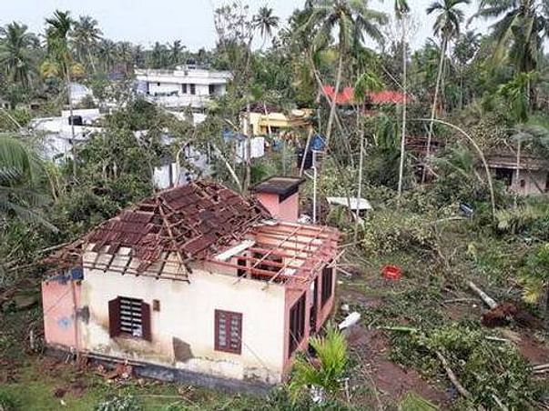 """Fund to rebuild houses affected by """"GAJA cyclone"""" in Delta"""