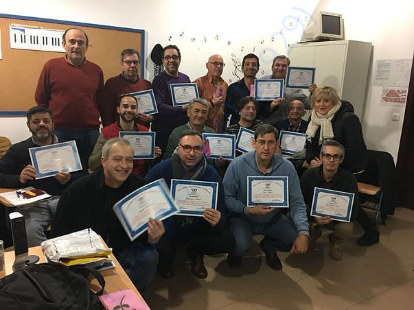 Our certificate of humanity in Spain