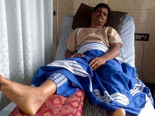 Help Karthik Leg surgery