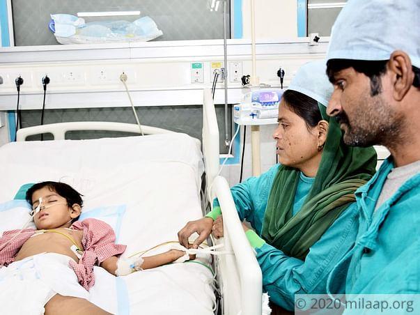 Mast. Arhan needs your help to undergo his treatment