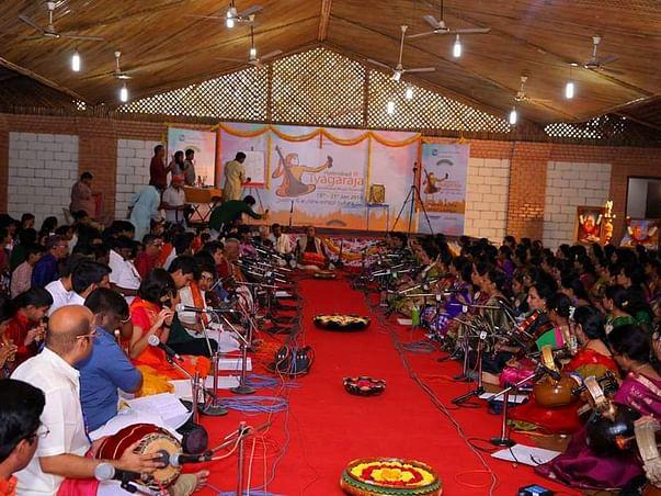 Donate for- HTAMF(Hyderabad Tyagaraja Aradhana Music Festival)