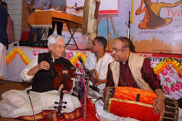 Stalwarts Annavarapu Ramaswamy garu and yella Venkateswara Rao garu