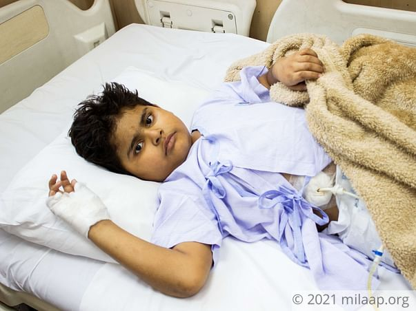 Arnav Verma needs your help to undergo his treatment