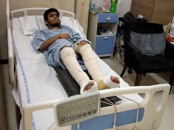 Help Rajesh Walk Again