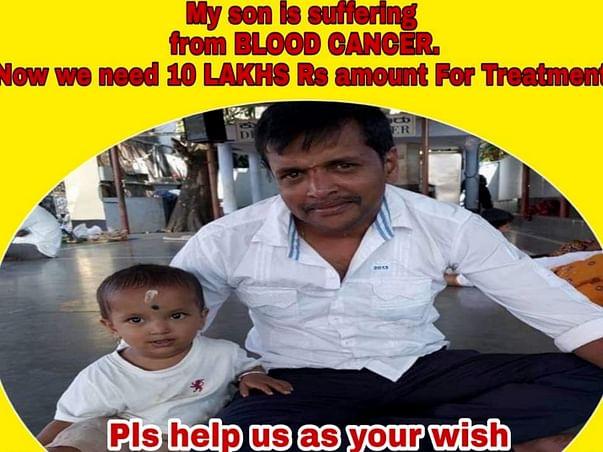 Help Adhish Recover From Leukemia