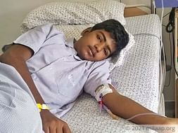 Nithin VN needs your help to fight disease