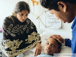 Widowed Mother Struggles To Save Son From Brain Haemorrhage