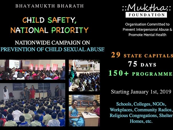 National Campaign in 29 State Capitals & UT Against Child Sexual Abuse