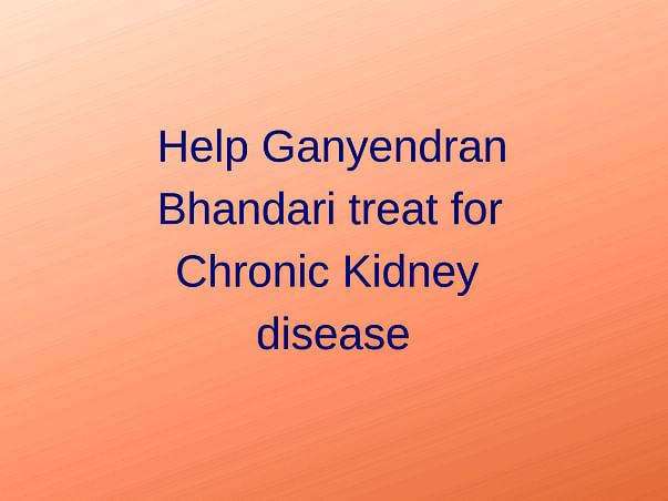 Help Gyanendra Undergo A Kidney Transplant
