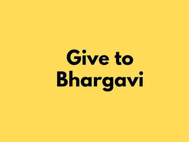 Help Bhargavi Fight Cervical Cancer
