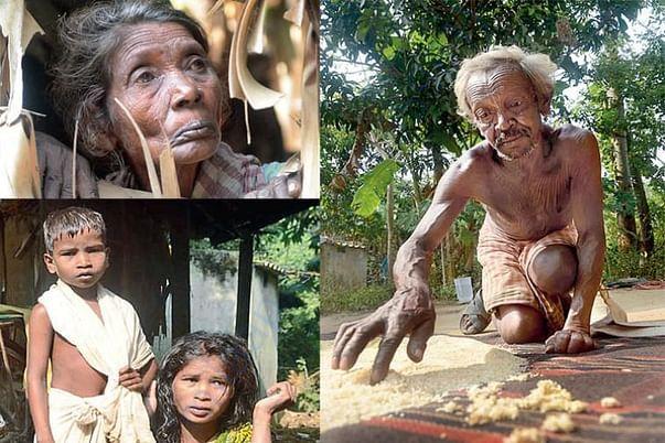 Helpless shabar families