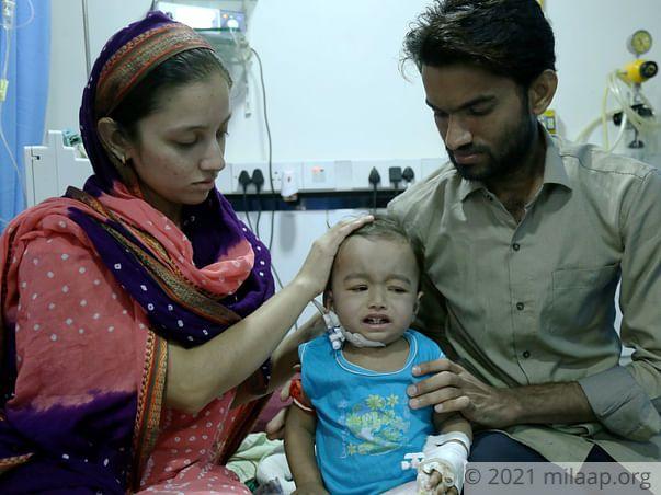 Atif needs your help to undergo the treatment