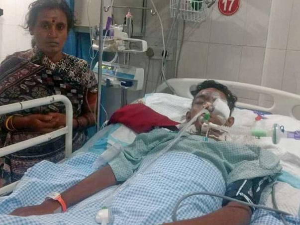 Help Venkatesh For Surgeries Who Met With Accident