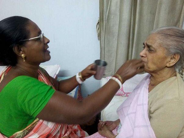 Help Elderly Women Monica Fight Paralysis