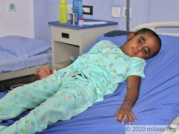 Vishnu needs your help to fight disease