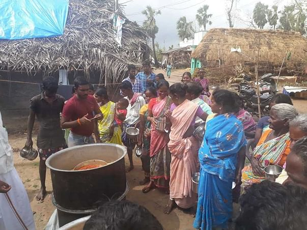 Cyclone 'Gaja' Disaster Relief Fund for Food & Shelter