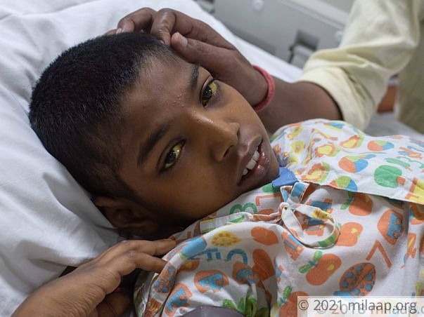 12-Year-Old With A Damaged Liver Screams In Pain, Needs Urgent Help