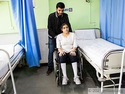 After A Tragic Accident, Young Girl's Only Wish Is To Walk Again