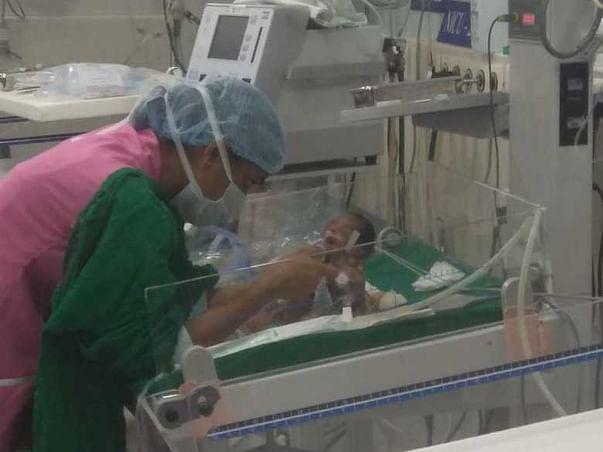 Help Save Raju and Nikita's Premature Baby Boy