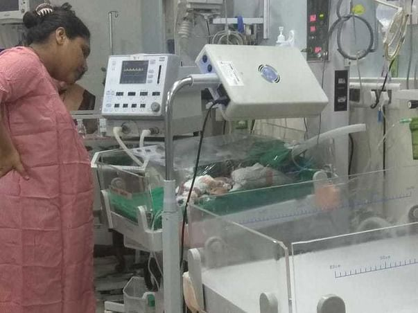 Help Save Raju and Nikita's Premature Baby Boy