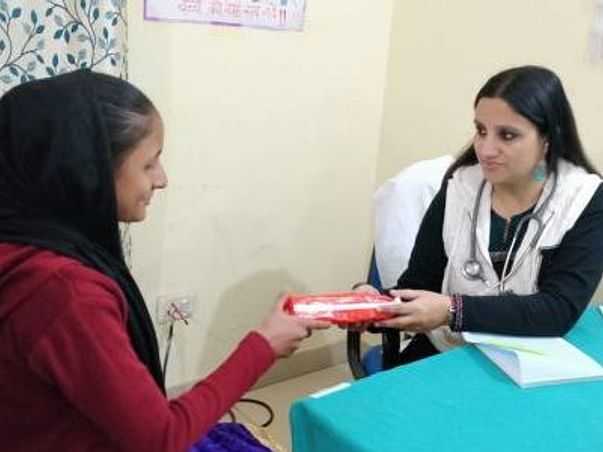 Help to donate free sanitary pads to girls and provide sex education