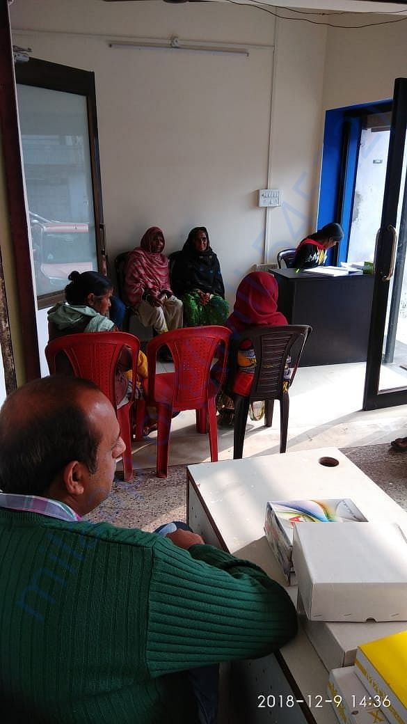 Free camp for cataract patients at our Ghamapur Clinic