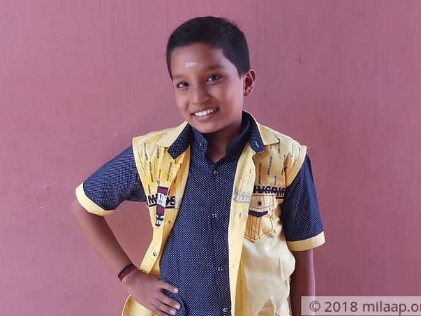 12-year-old Unaware Of His Cancer Believes Lord Perumal Will Help