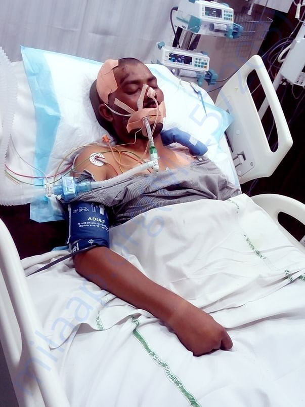 Rajesh Tilante in Coma