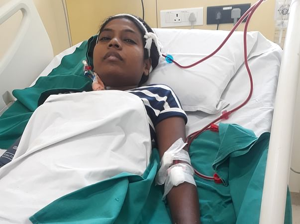 Help Mrunalani for her kidney transplant surgery .