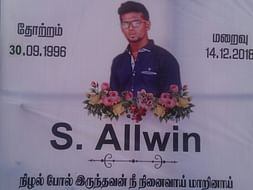 Please Support Allwin's Family