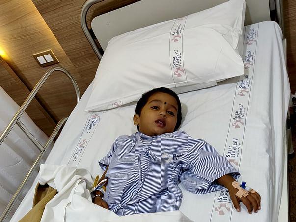Help Baby Gowrav Fight Brain Tumor
