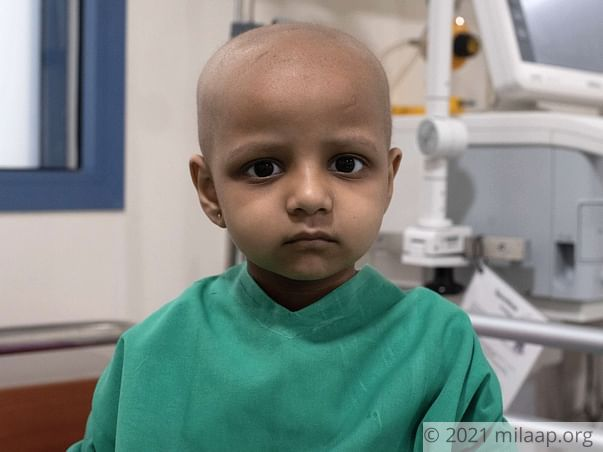 4-Year-Old With Cancer Wants To Get Better And Go Back To School