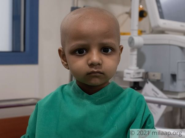 4-Year-Old With Cancer Wants To Get Better And Go To School Soon