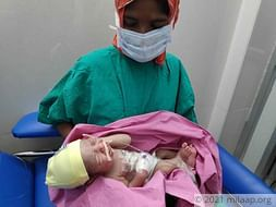 Baby Born With Liver Outside His Body Needs Help To Fight Infection